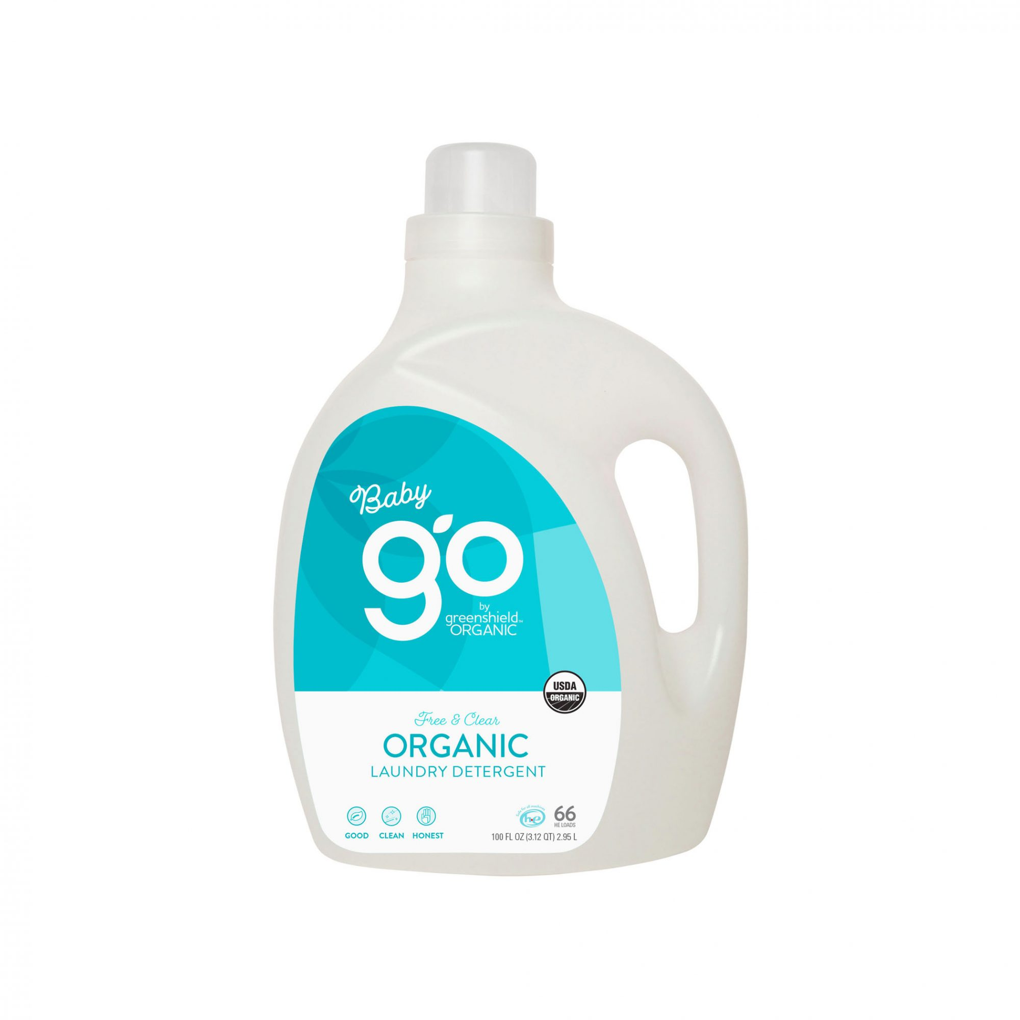 Go Organic Baby Laundry Detergent in Free & Clear