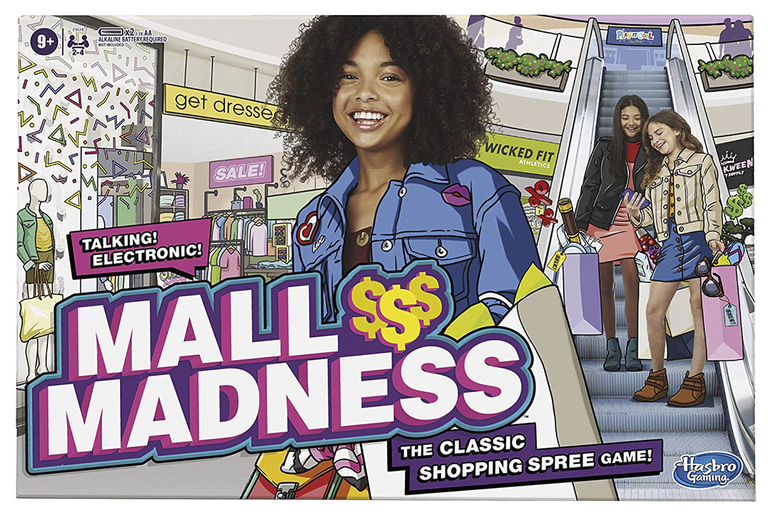 Hasbro Mall Madness Game Electronic