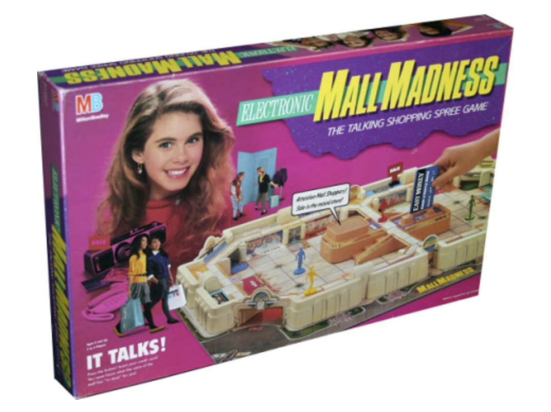 Original Hasbro Mall Madness Board Game