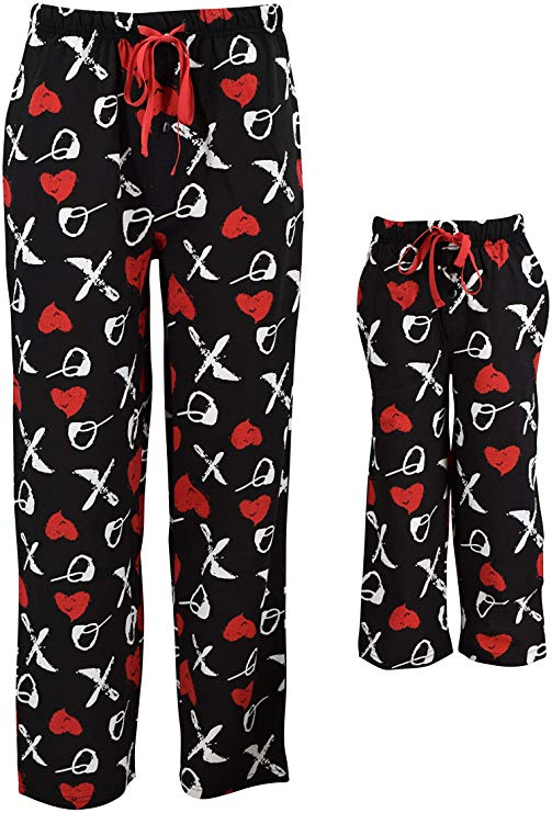 x and o valentine's day pajamas
