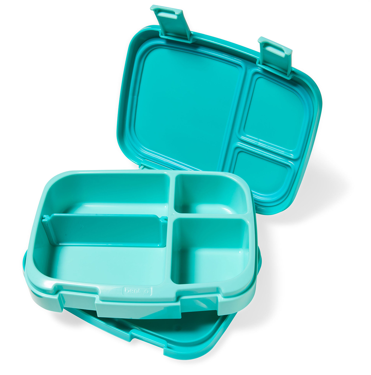 Teal lunch boxes