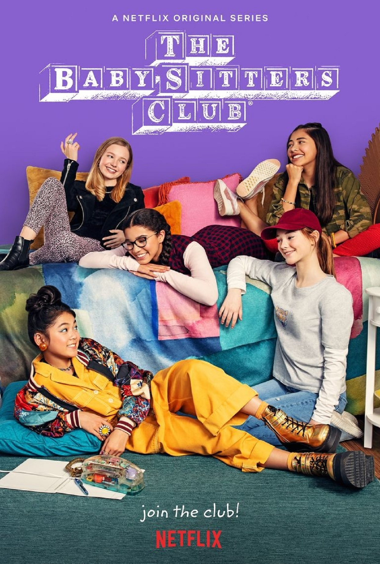 NETFLIX babysitters club cover