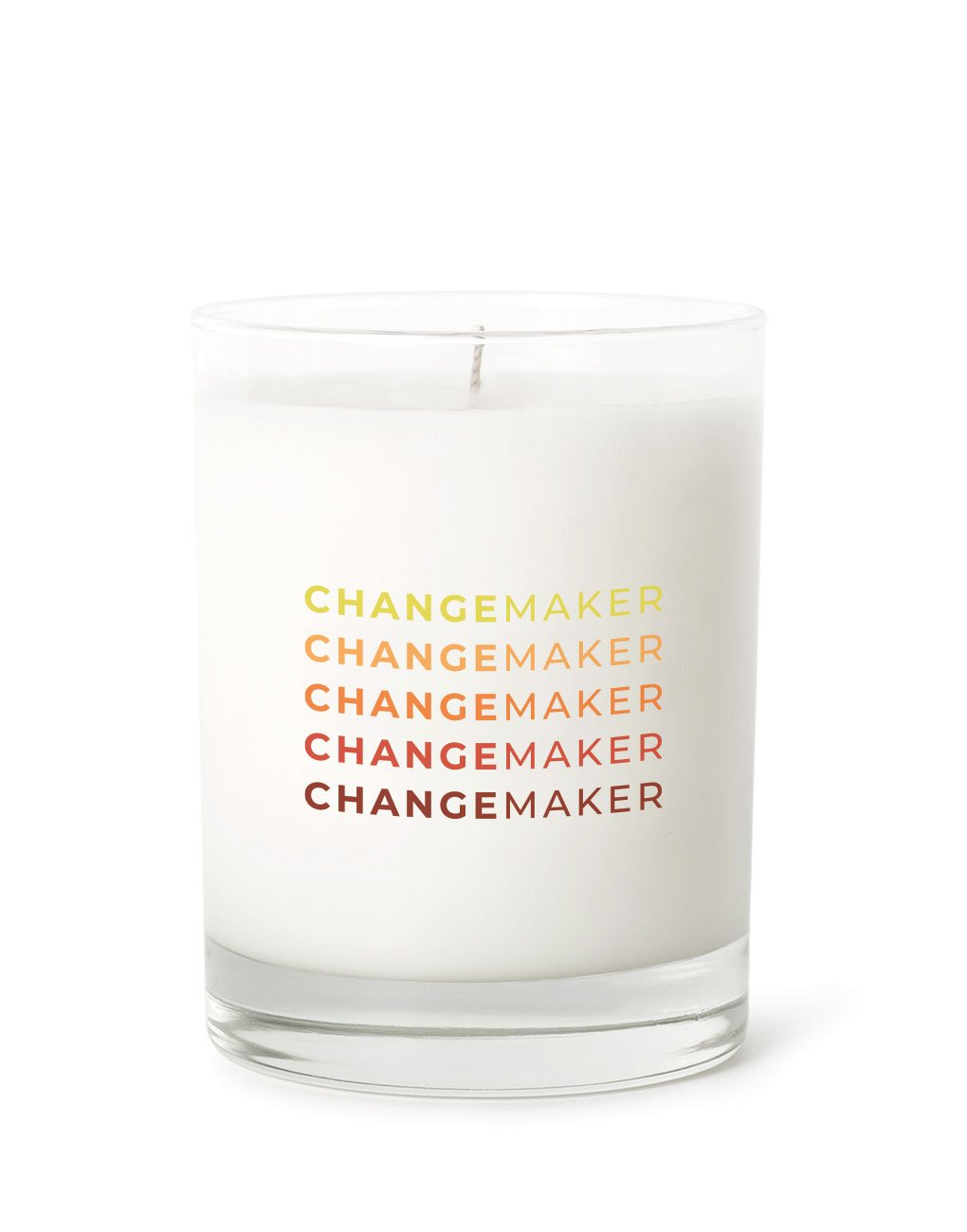 TLM changemaker candle