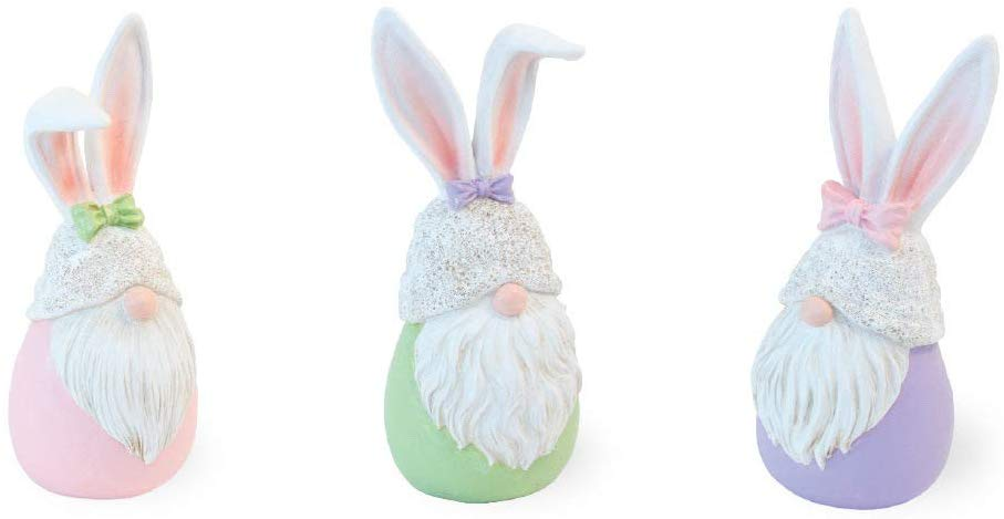 stone pastel easter gnomes