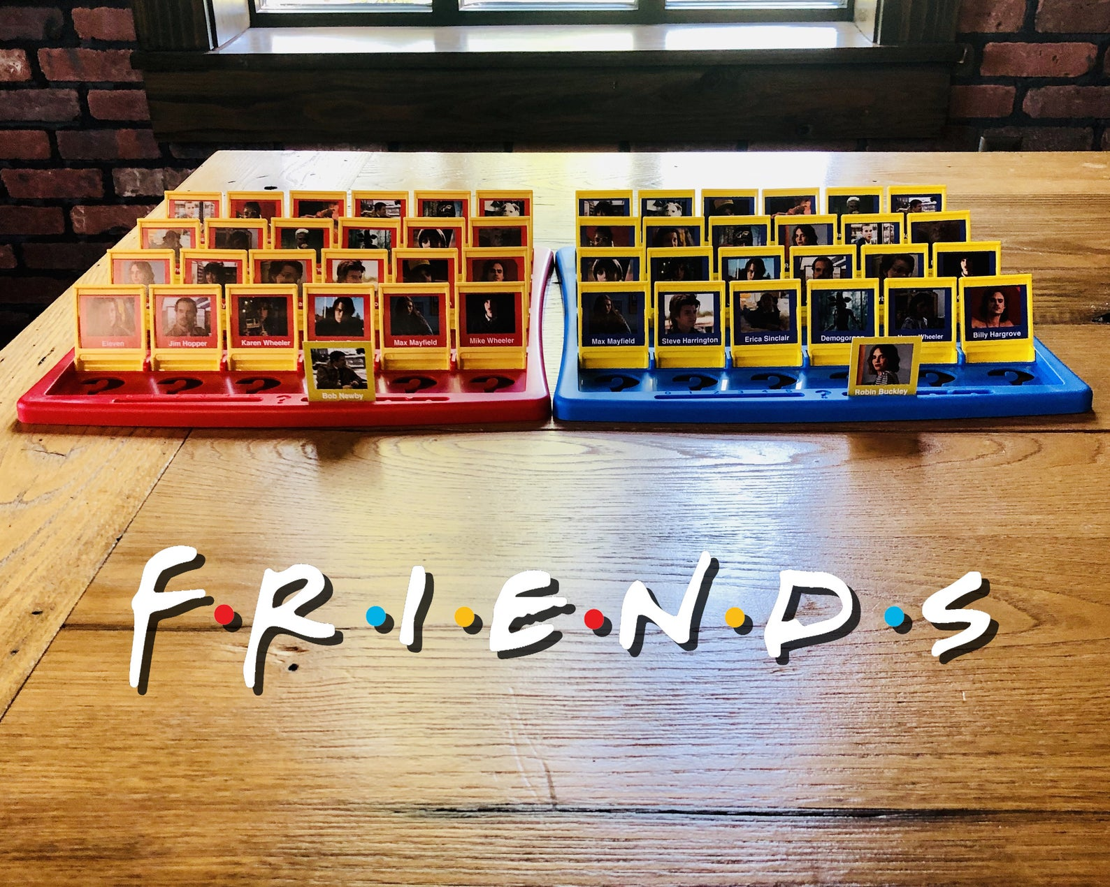 friends guess who board game