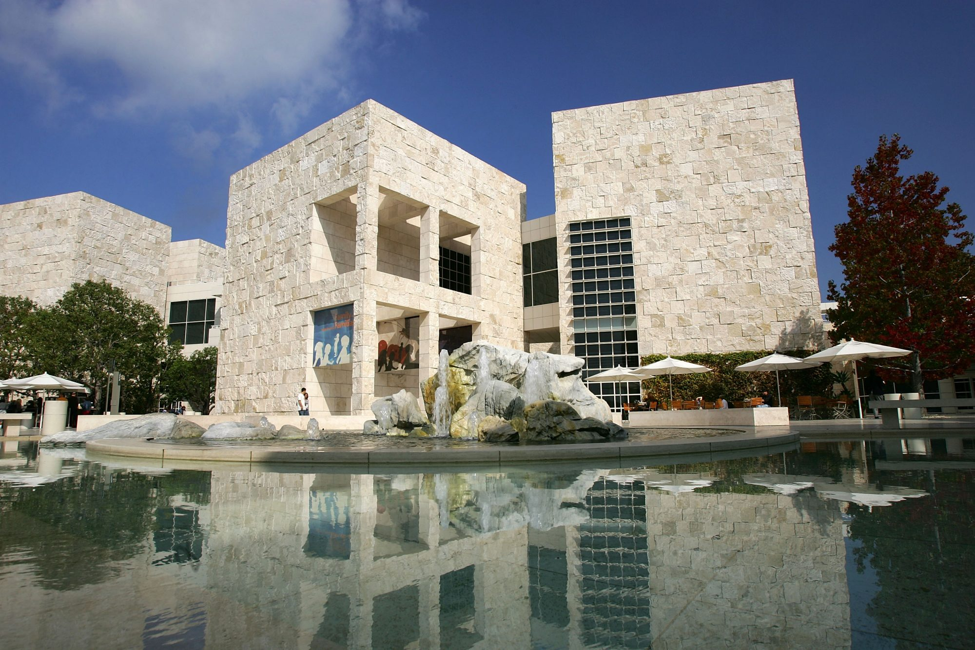The Getty Museum of Los Angeles