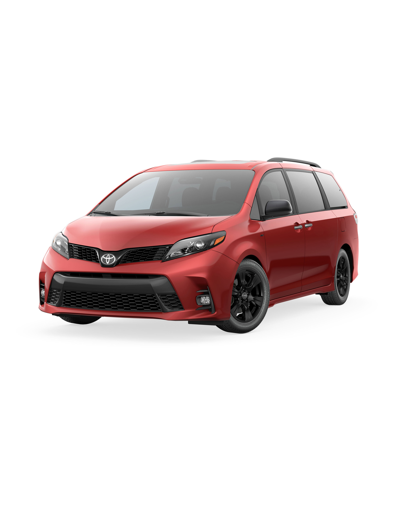red toyota sienna