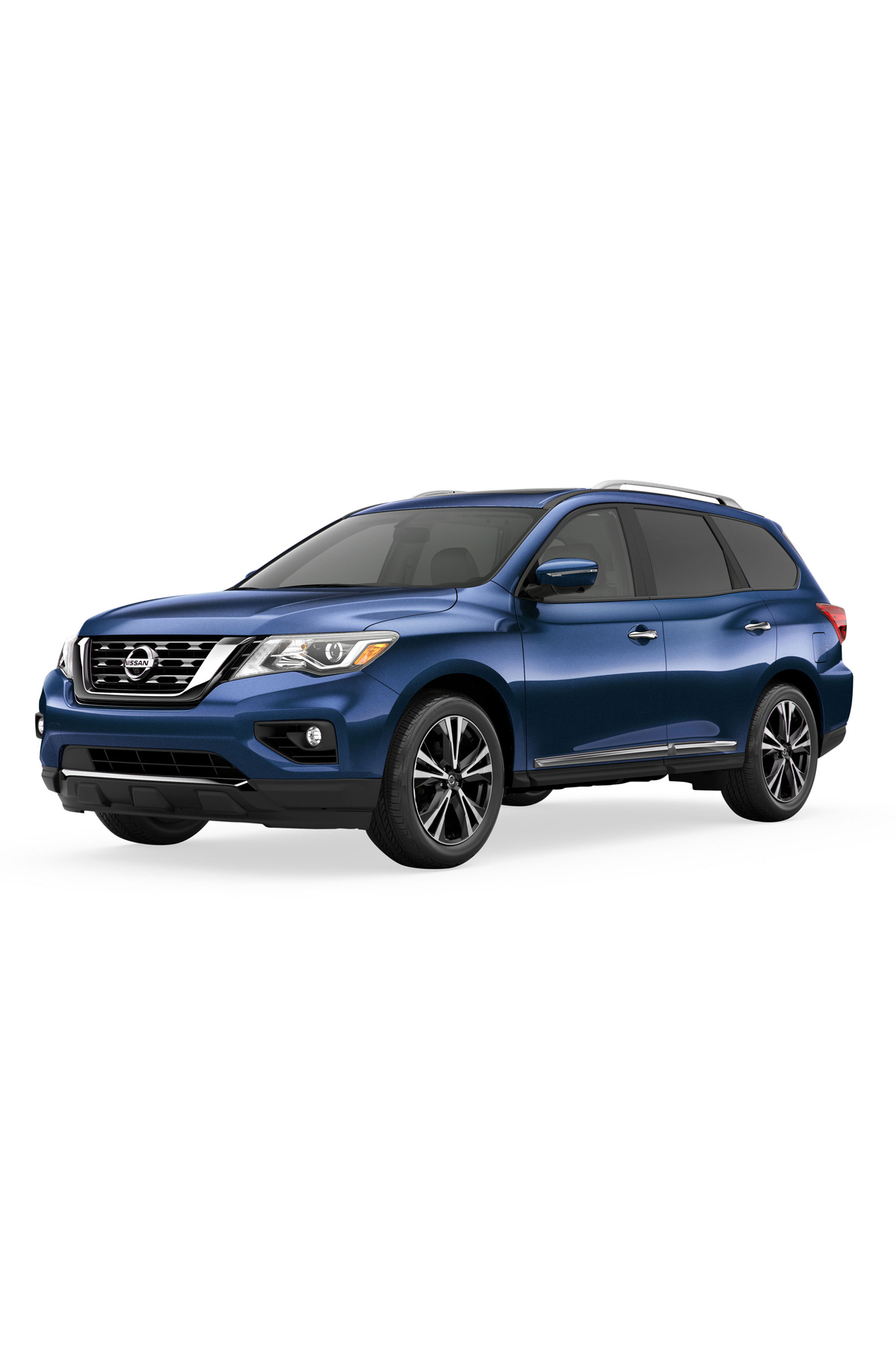 blue nissan pathfinder