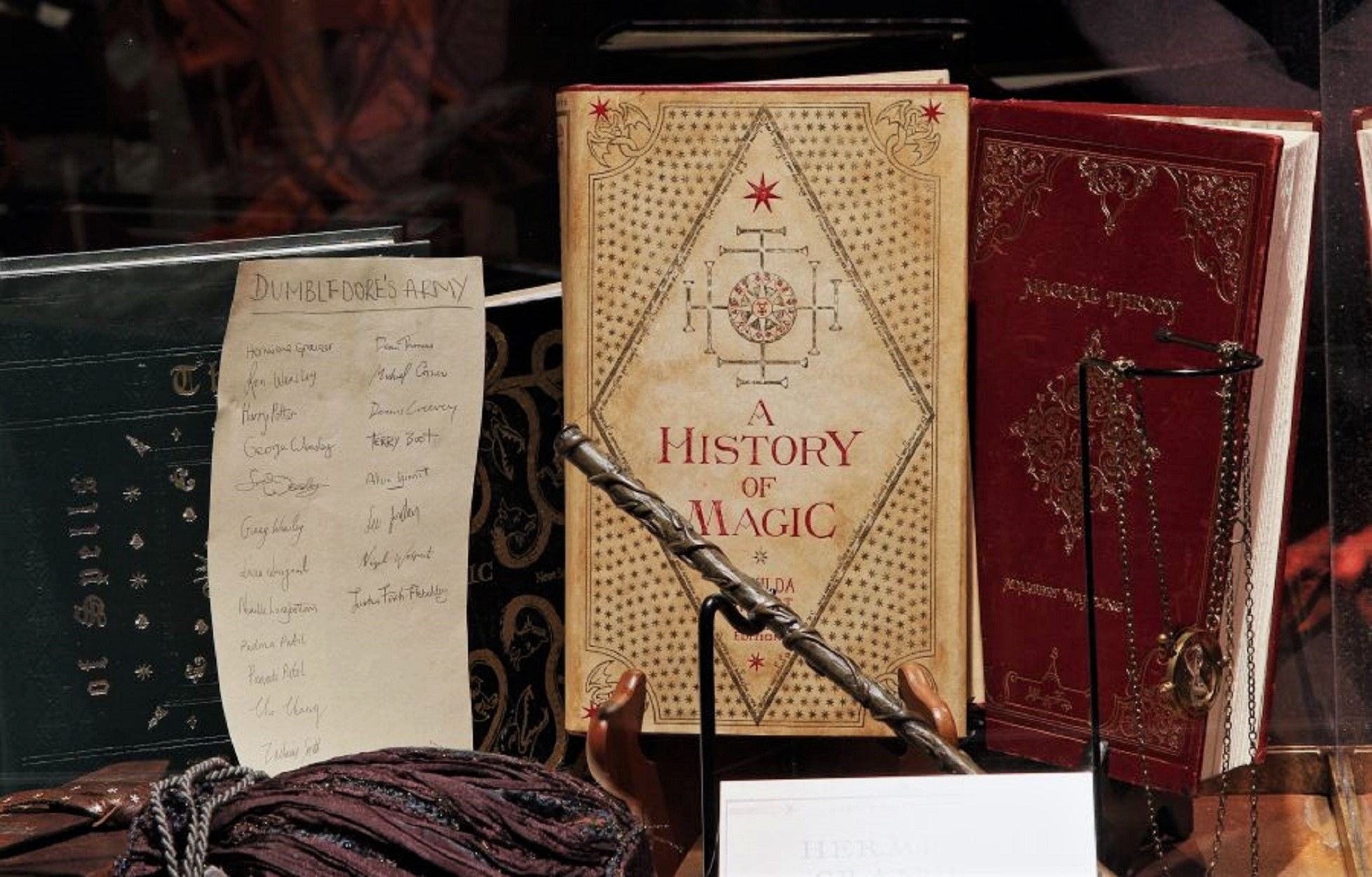 harry potter a history of magic books