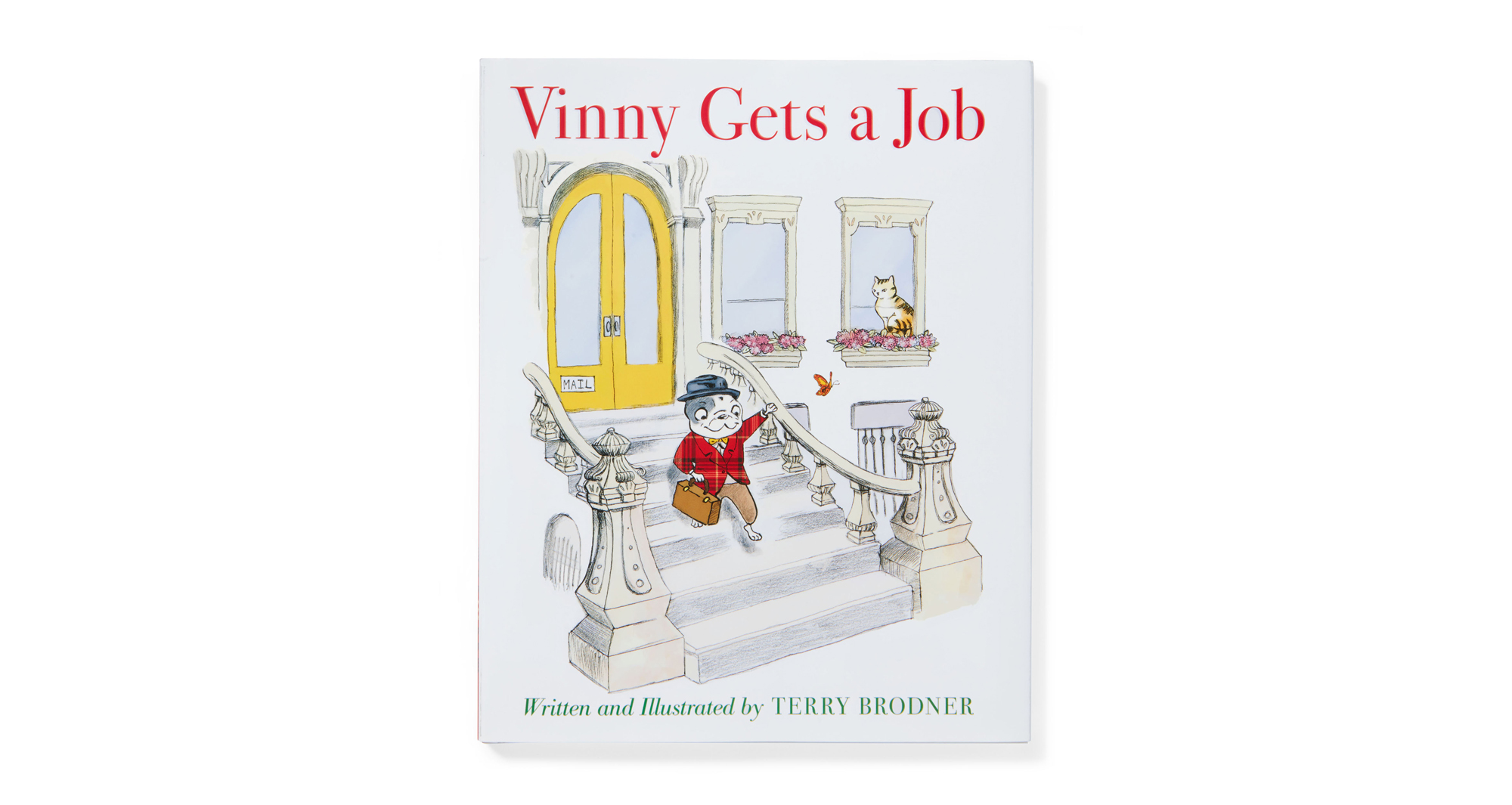 Vinny Gets a Job book cover