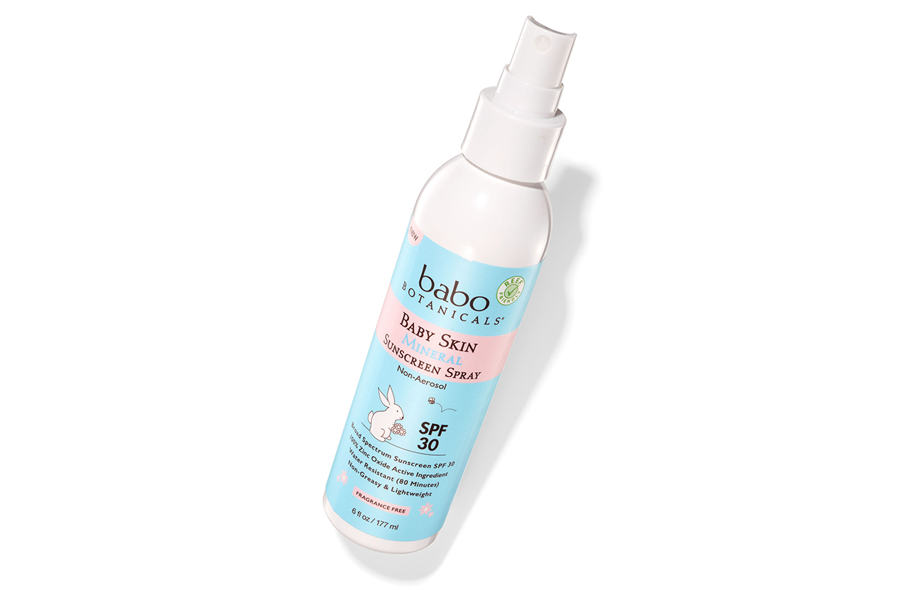 Babo Botanicals Baby Sunscreen
