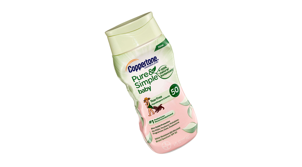 Coppertone Baby Sunscreen Lotion