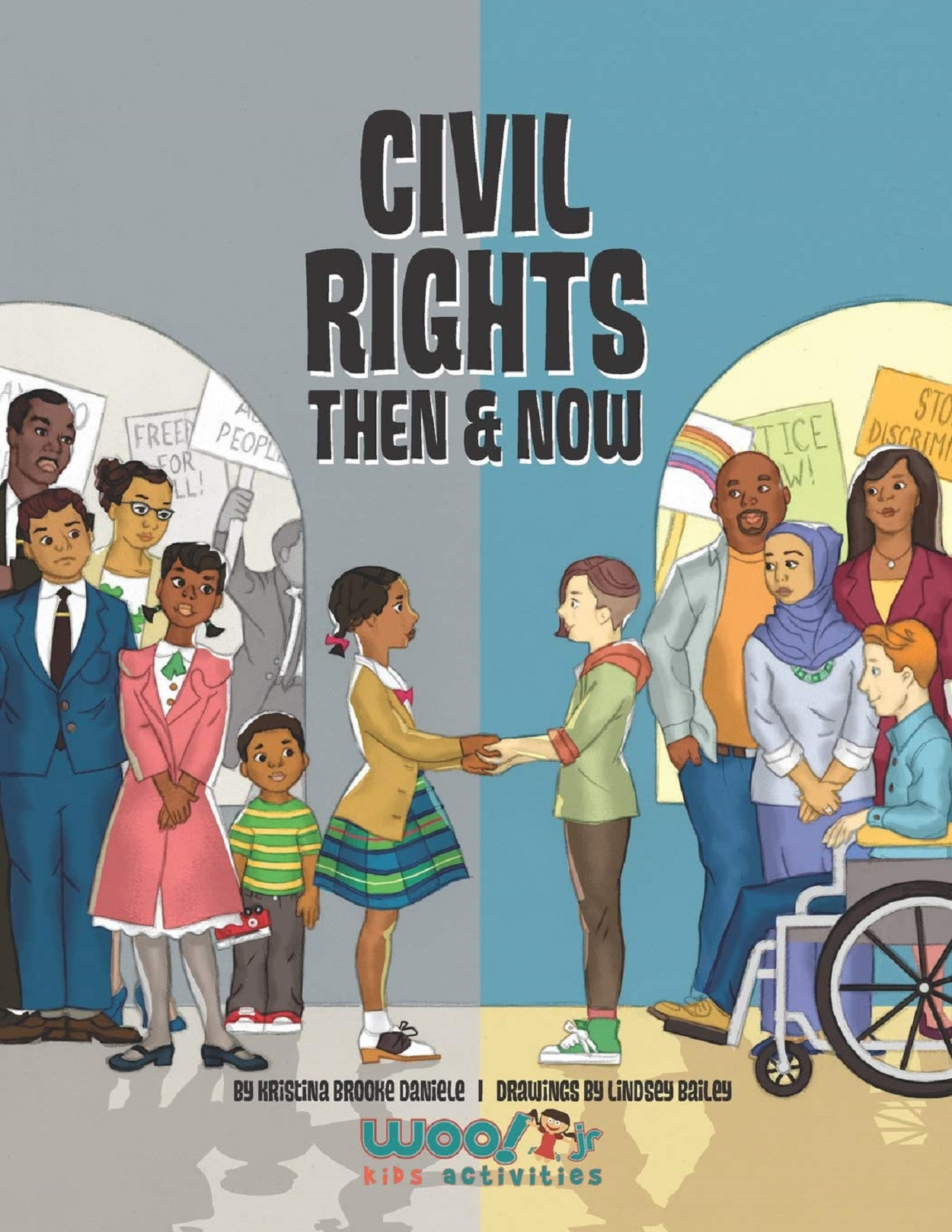 Civil Rights Then and Now Book Cover