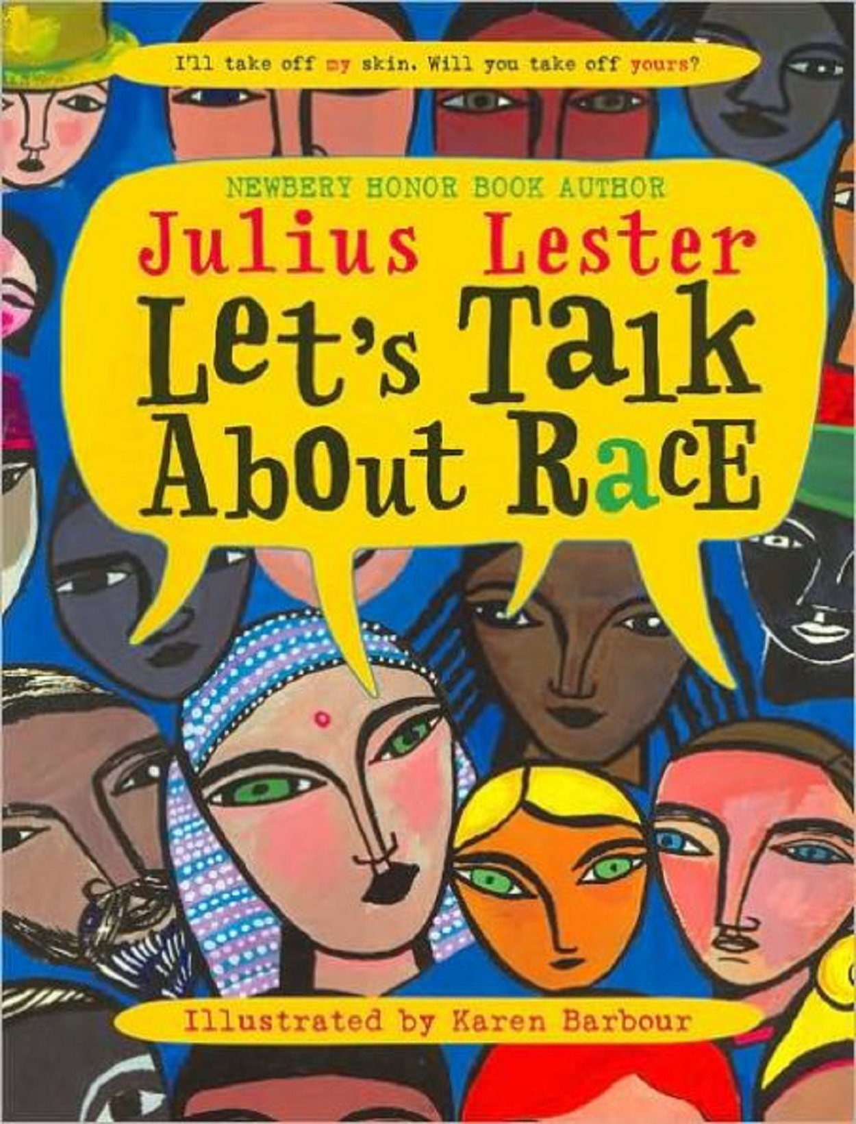Lets Talk About Race Book Cover