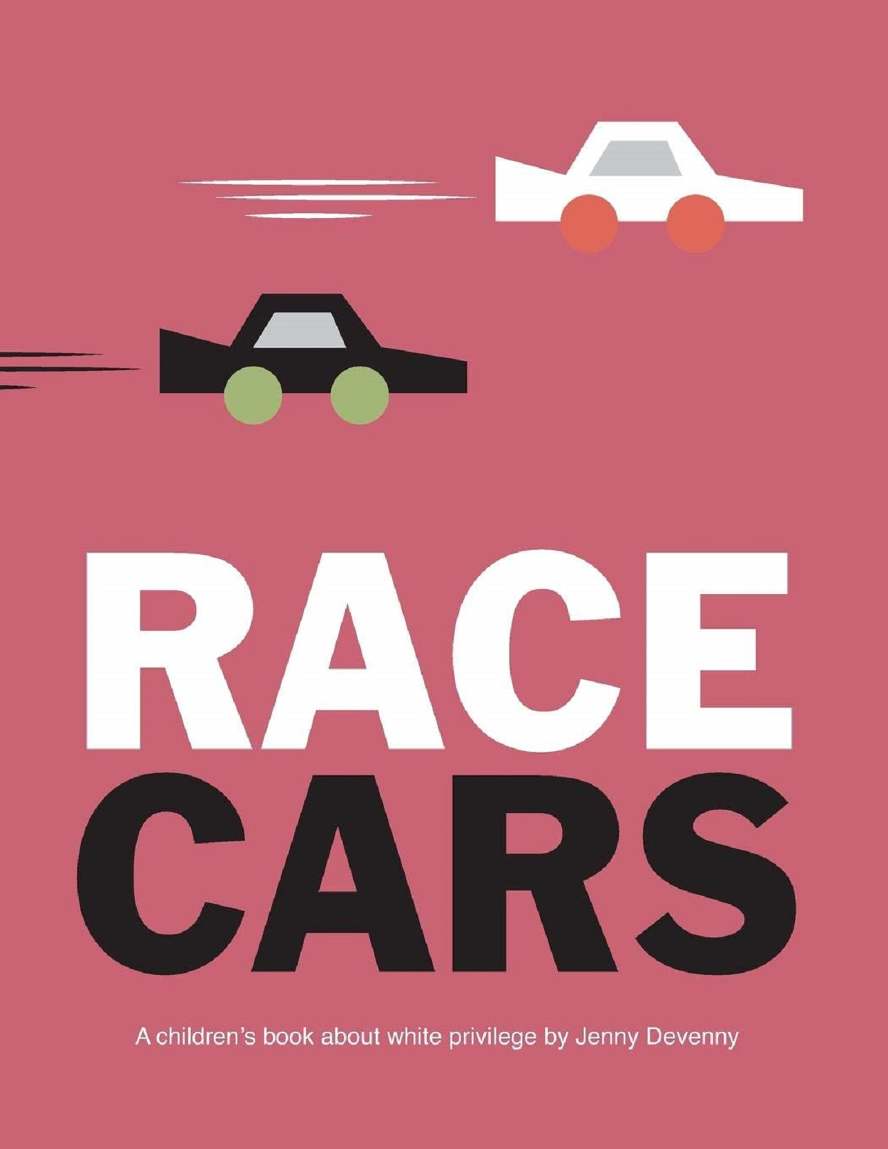 Race Cars Book Cover