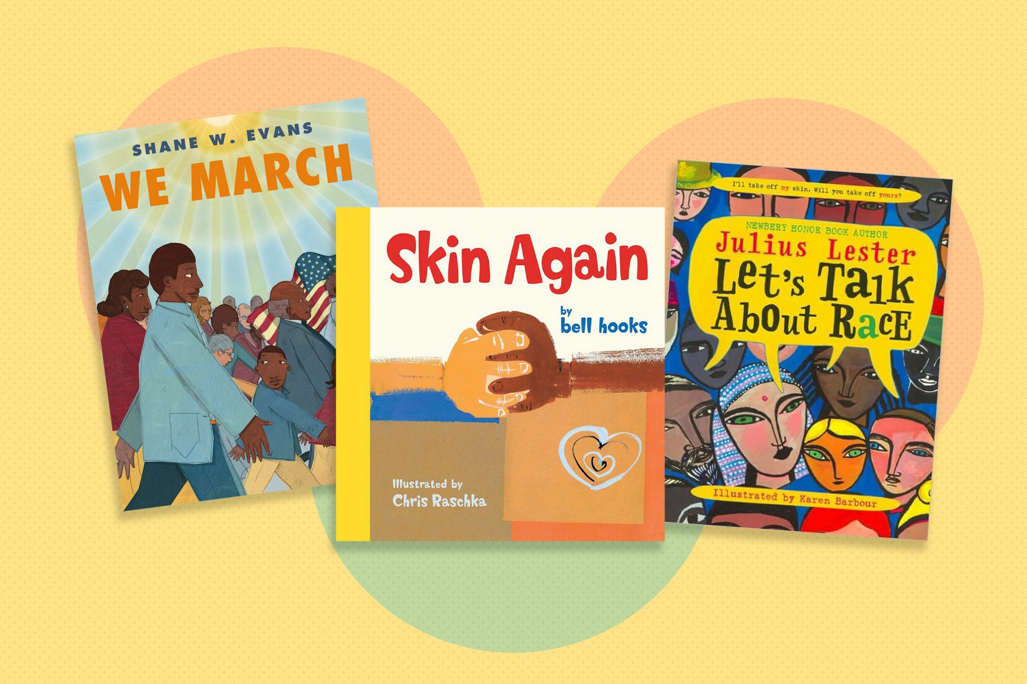 childrens books on diversity with patterned background