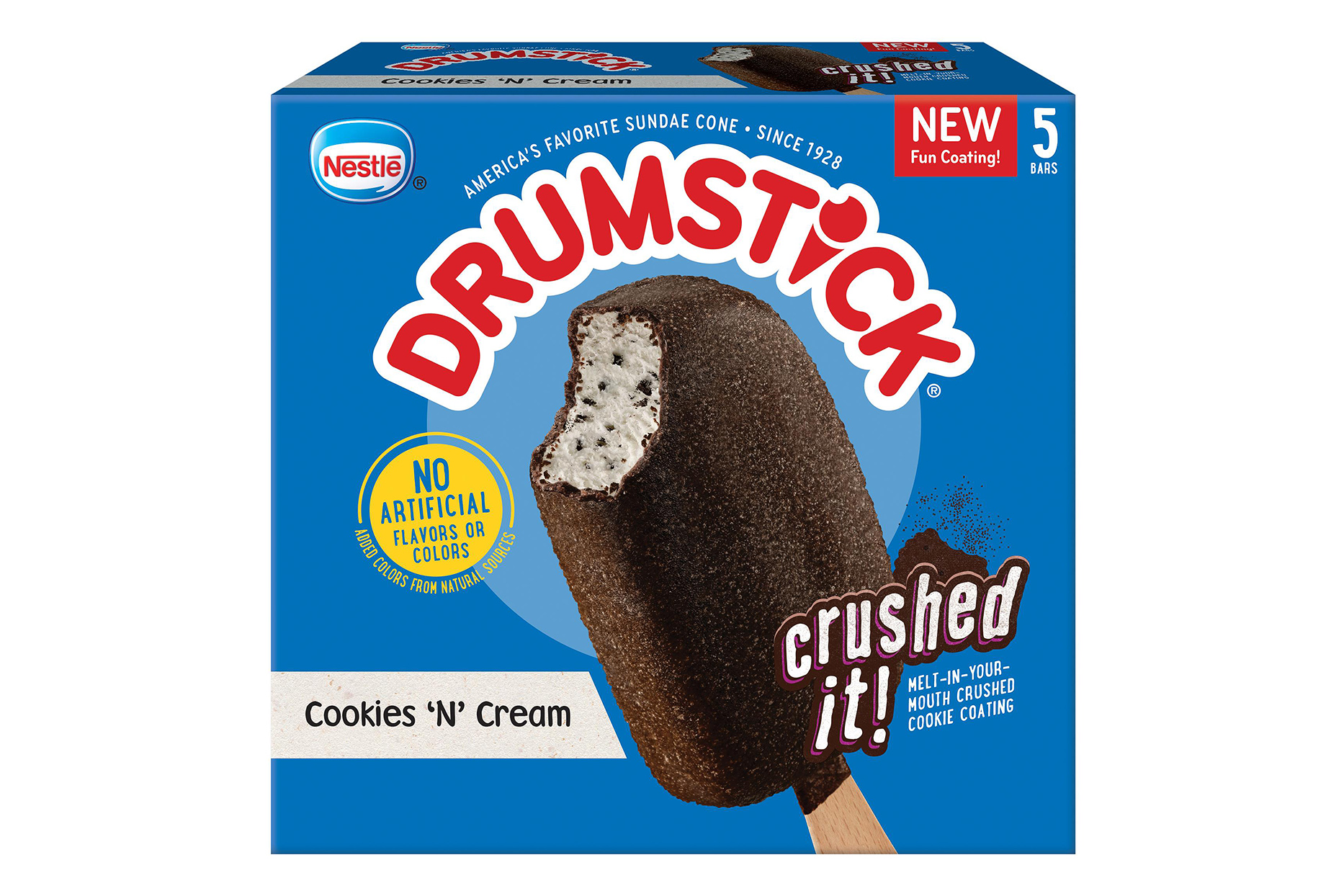 drumstick cookies 'n' cream