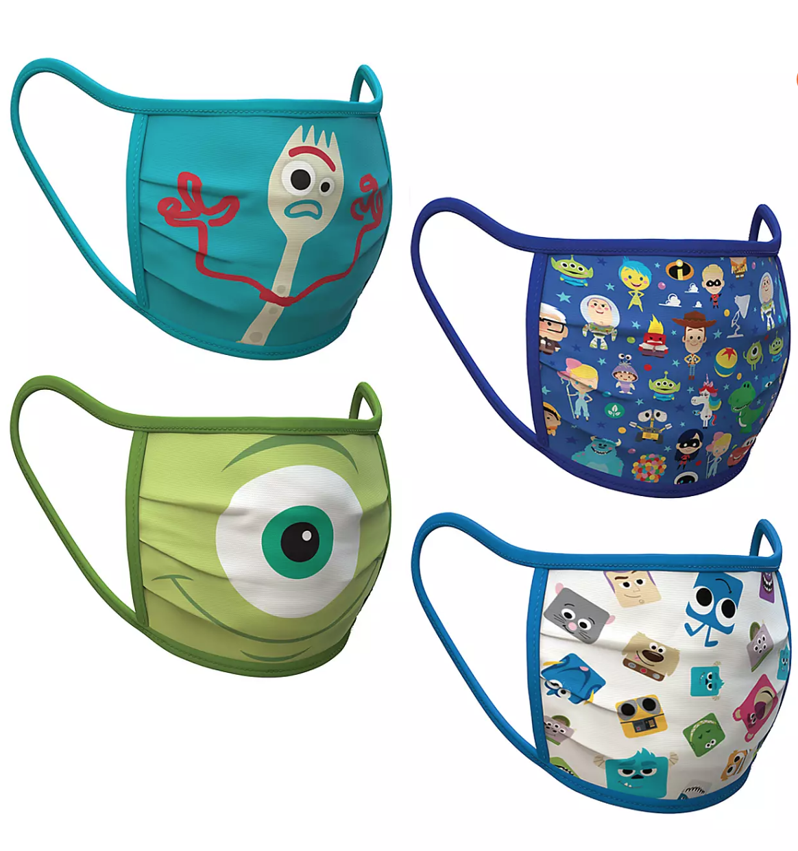 Pixar Face Masks