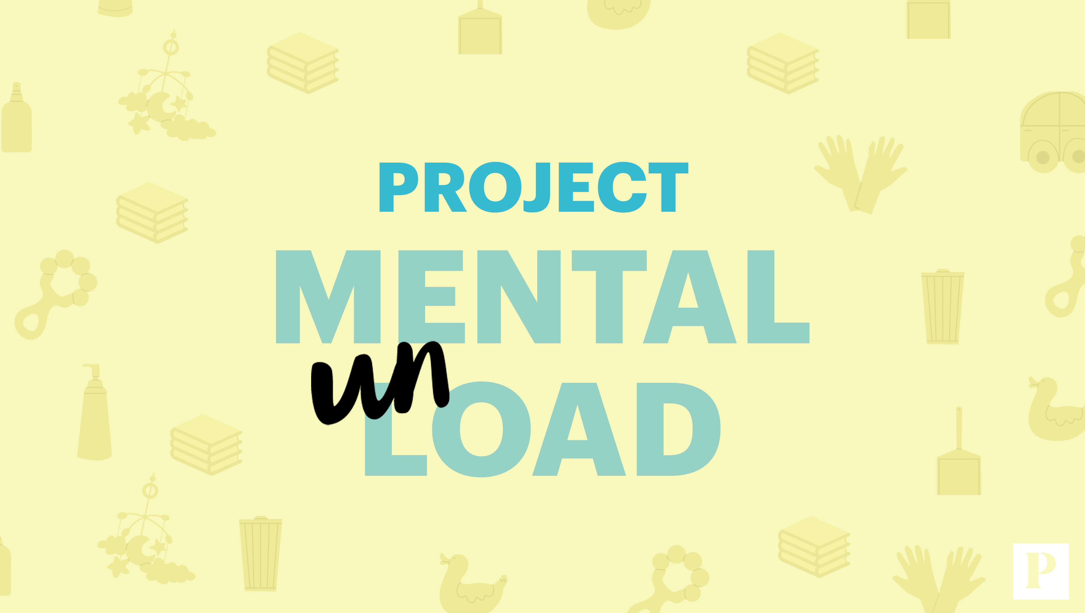 Project Mental UnLoad illustration with Parents watermark