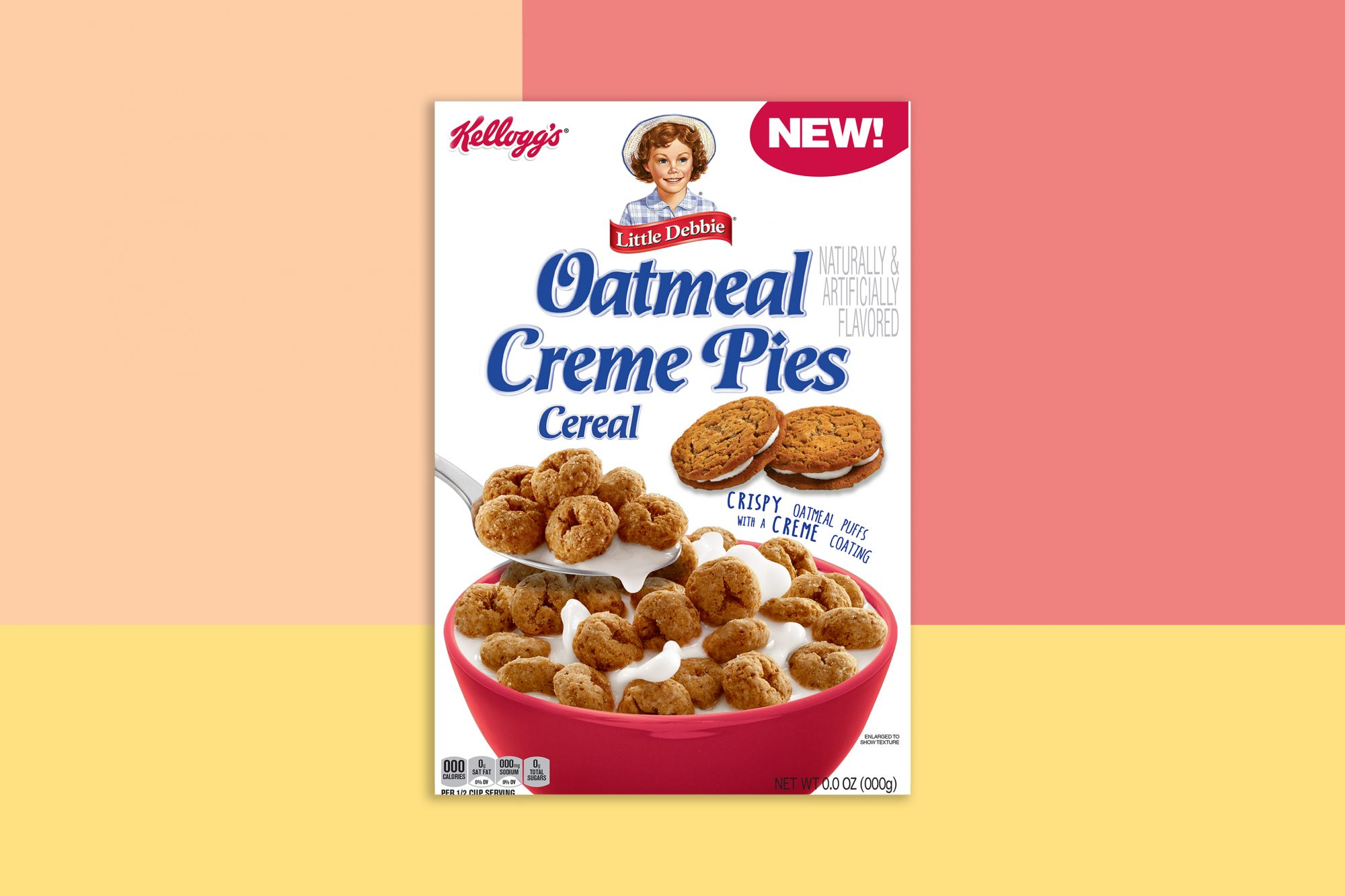 Little Debbie Oatmeal Creme Pies Cereal