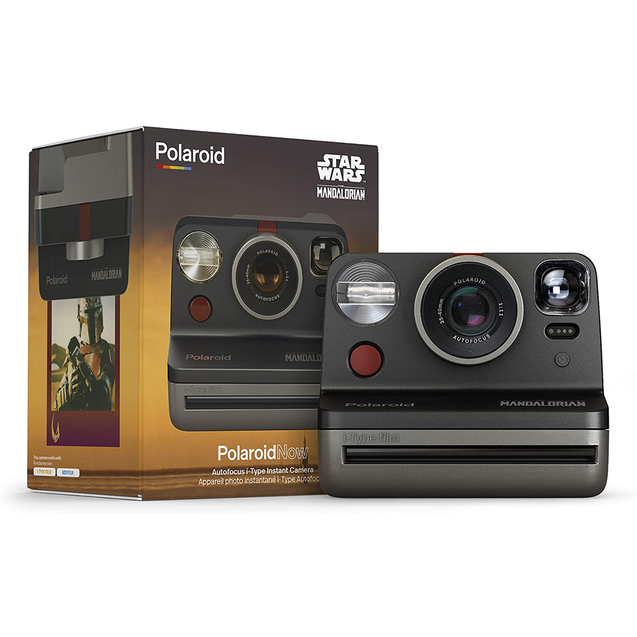 Poloroid Now i-Type Camera - The Mandalorian Edition
