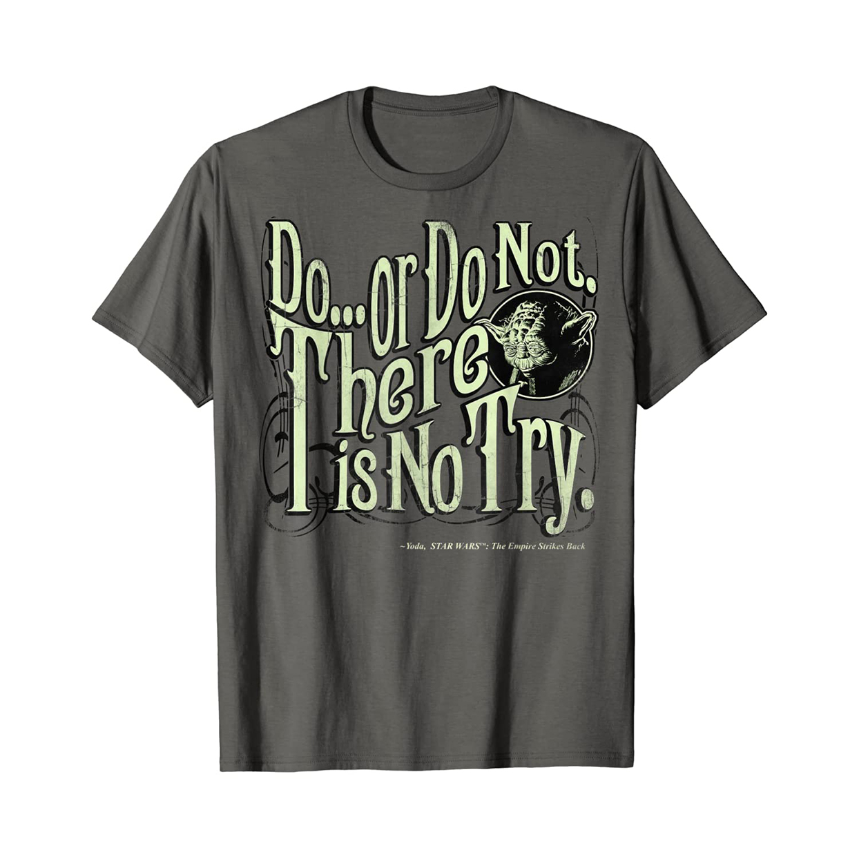 Star Wars Yoda Epic Quote T-shirt