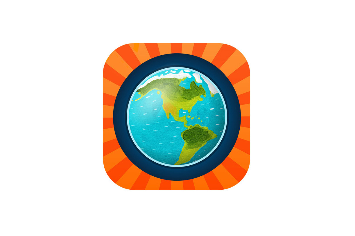 Barefoot World Atlas app icon
