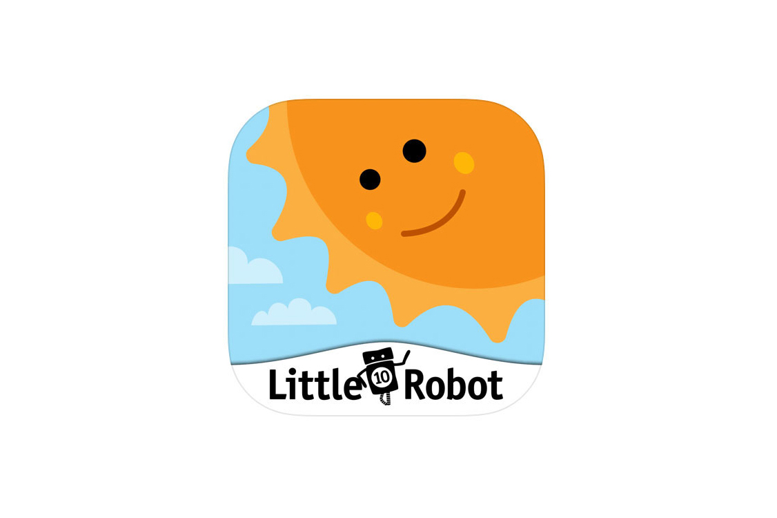 Little 10 Robot: Goodness Shapes app icon