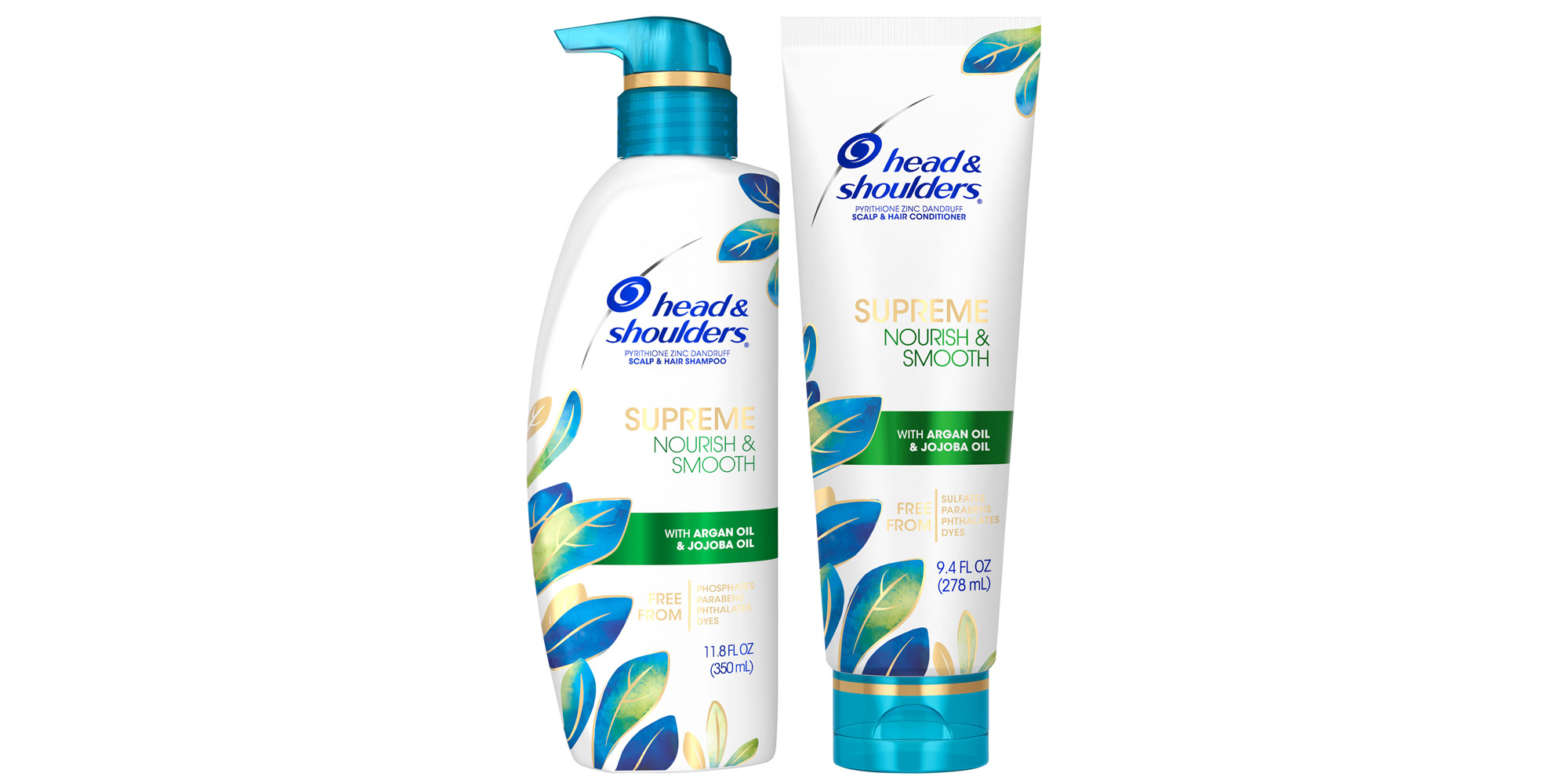 Head & Shoulders Supreme Nourish & Smooth Shampoo and Conditioner