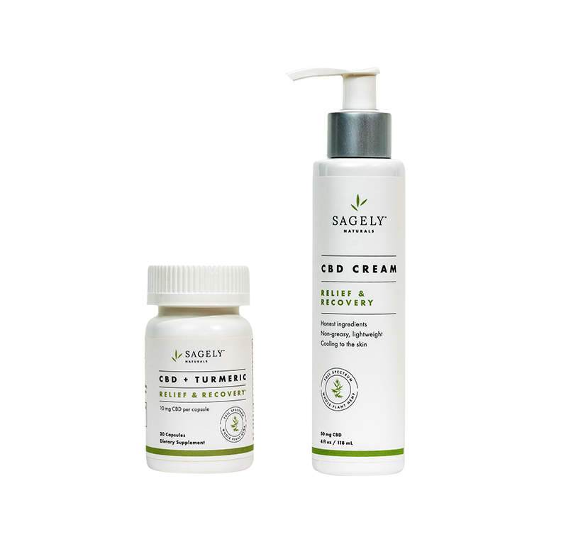 Sagely Naturals Relief & Recovery Bundle