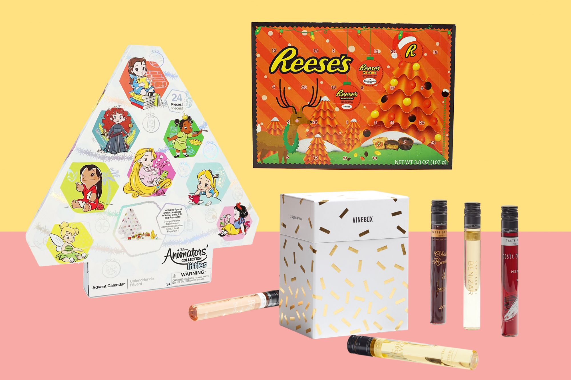 advent calendar reese's vinebox disney