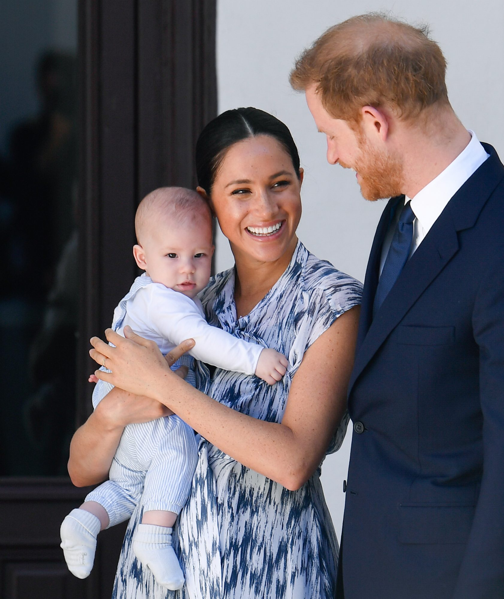 Archie, Meghan, and Prince Harry