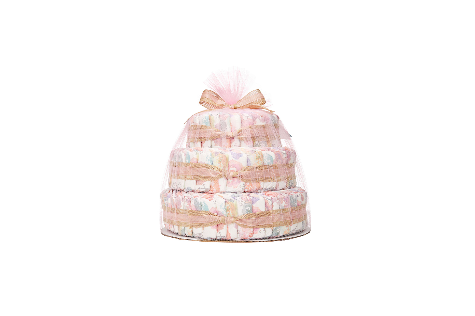 Honest Co. Diaper Cake