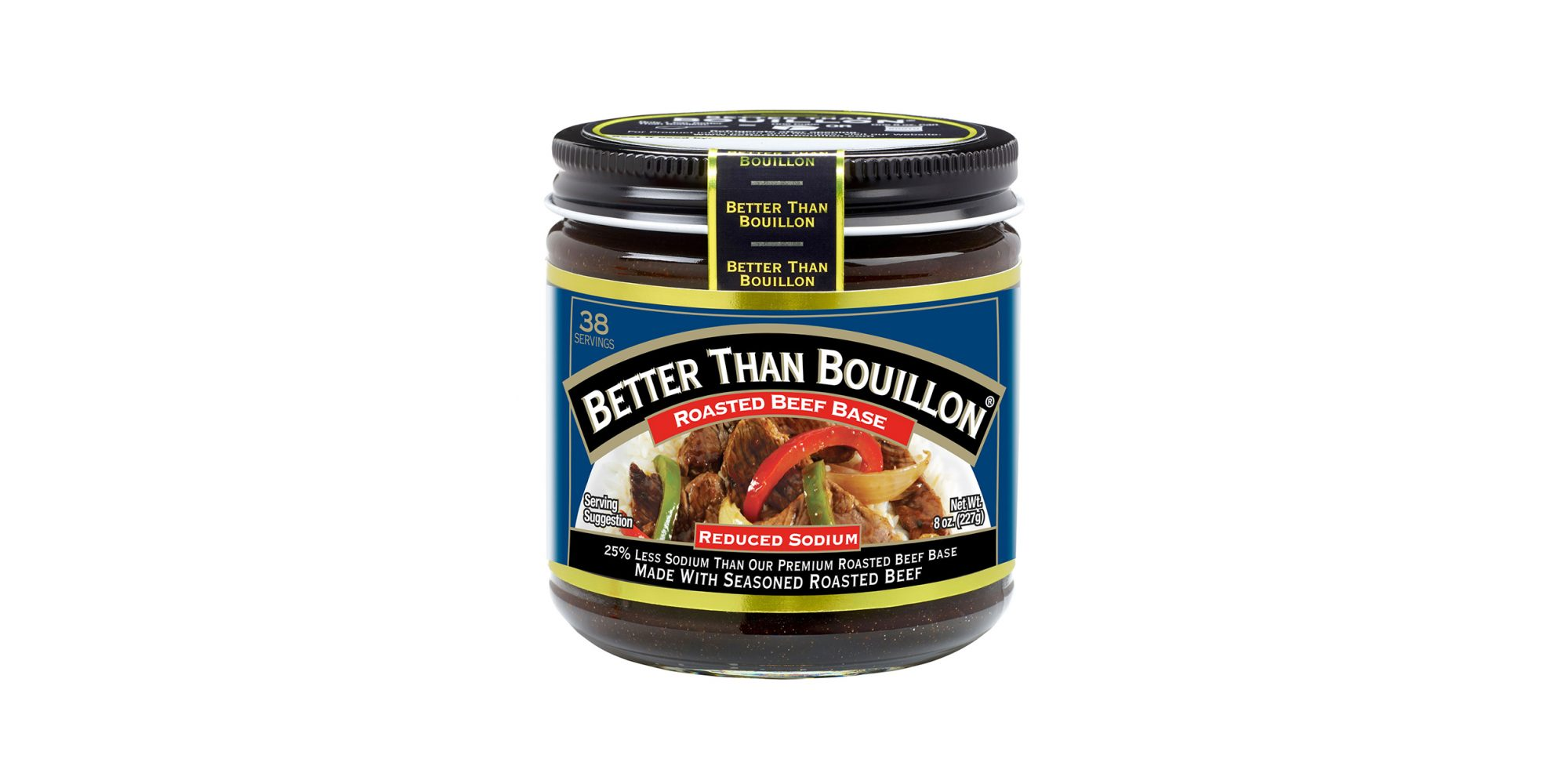 Better Than Bouillon Roasted Beef Reduced Sodium Base