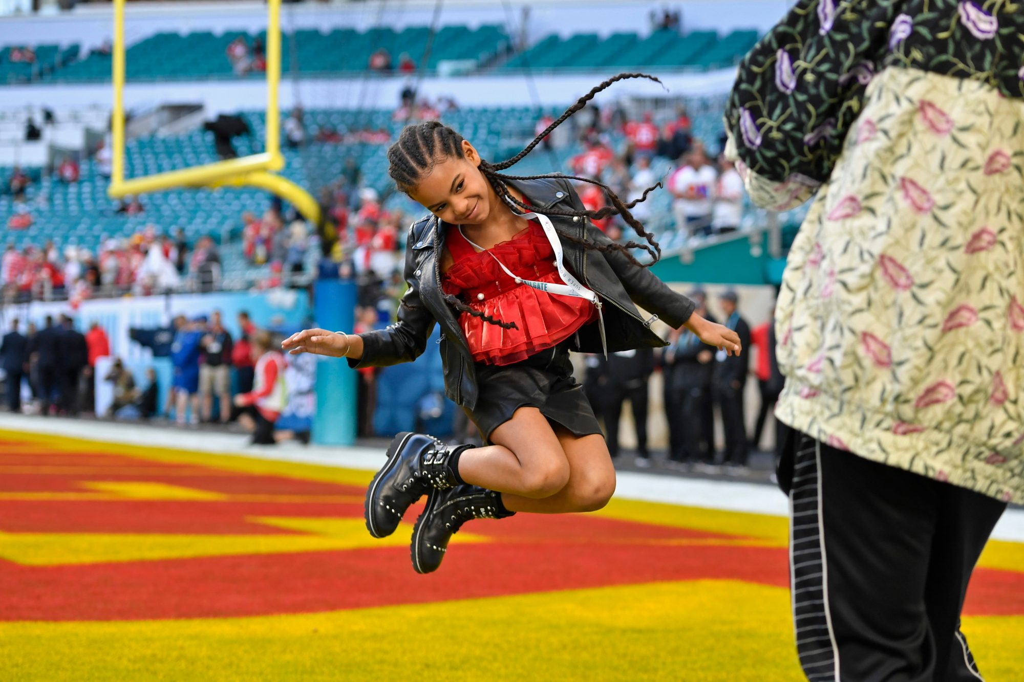 Blue Ivy Jumping