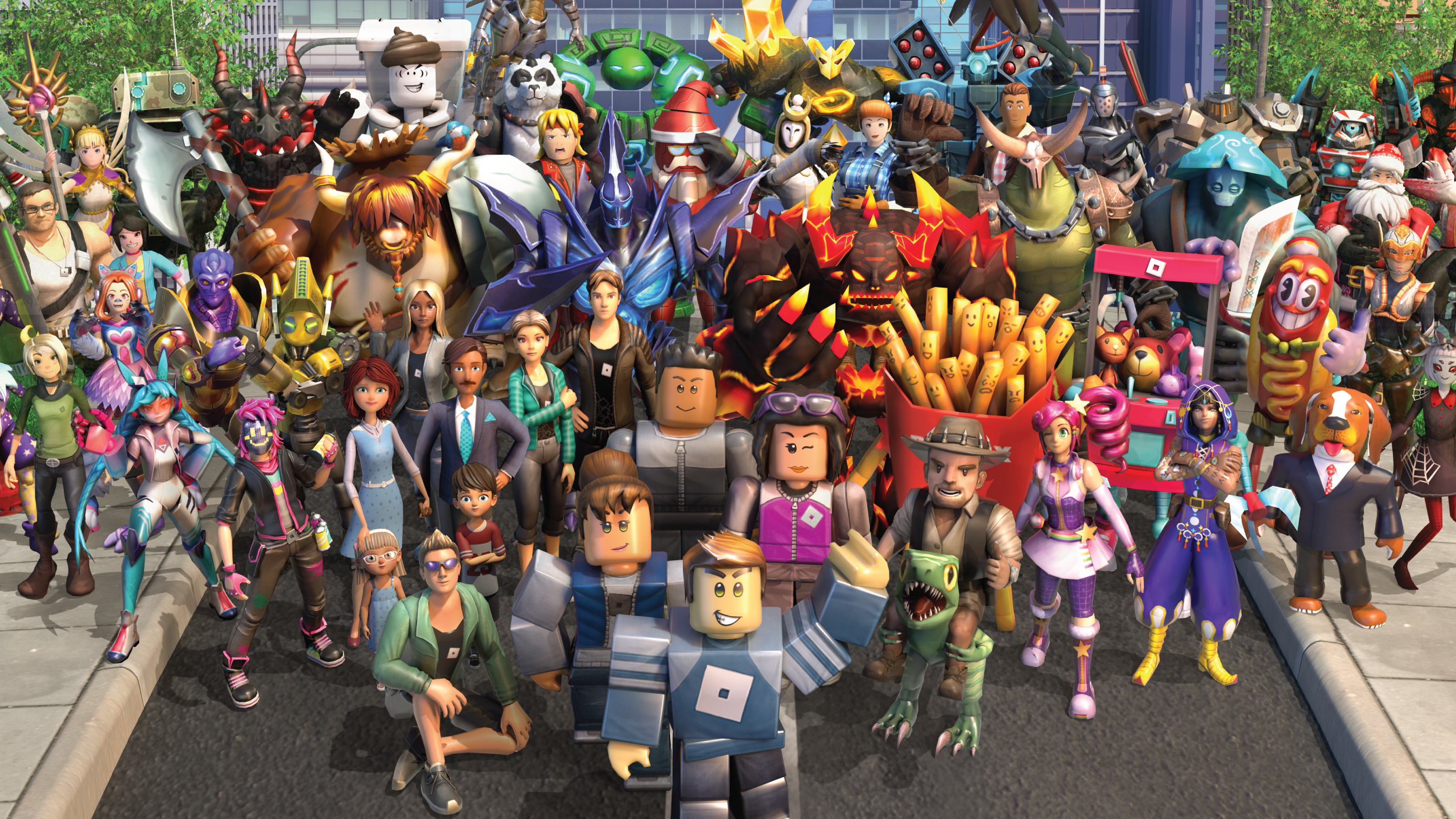 An image of Roblox.