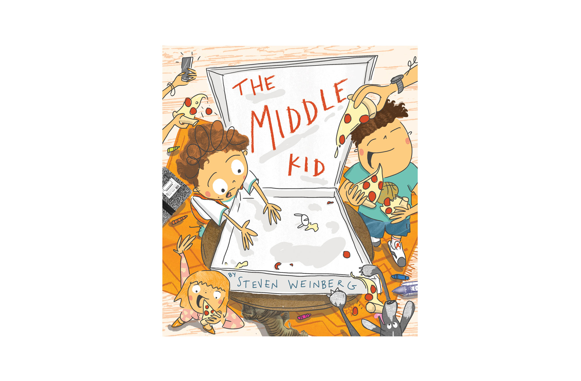 The Middle Kid book cover