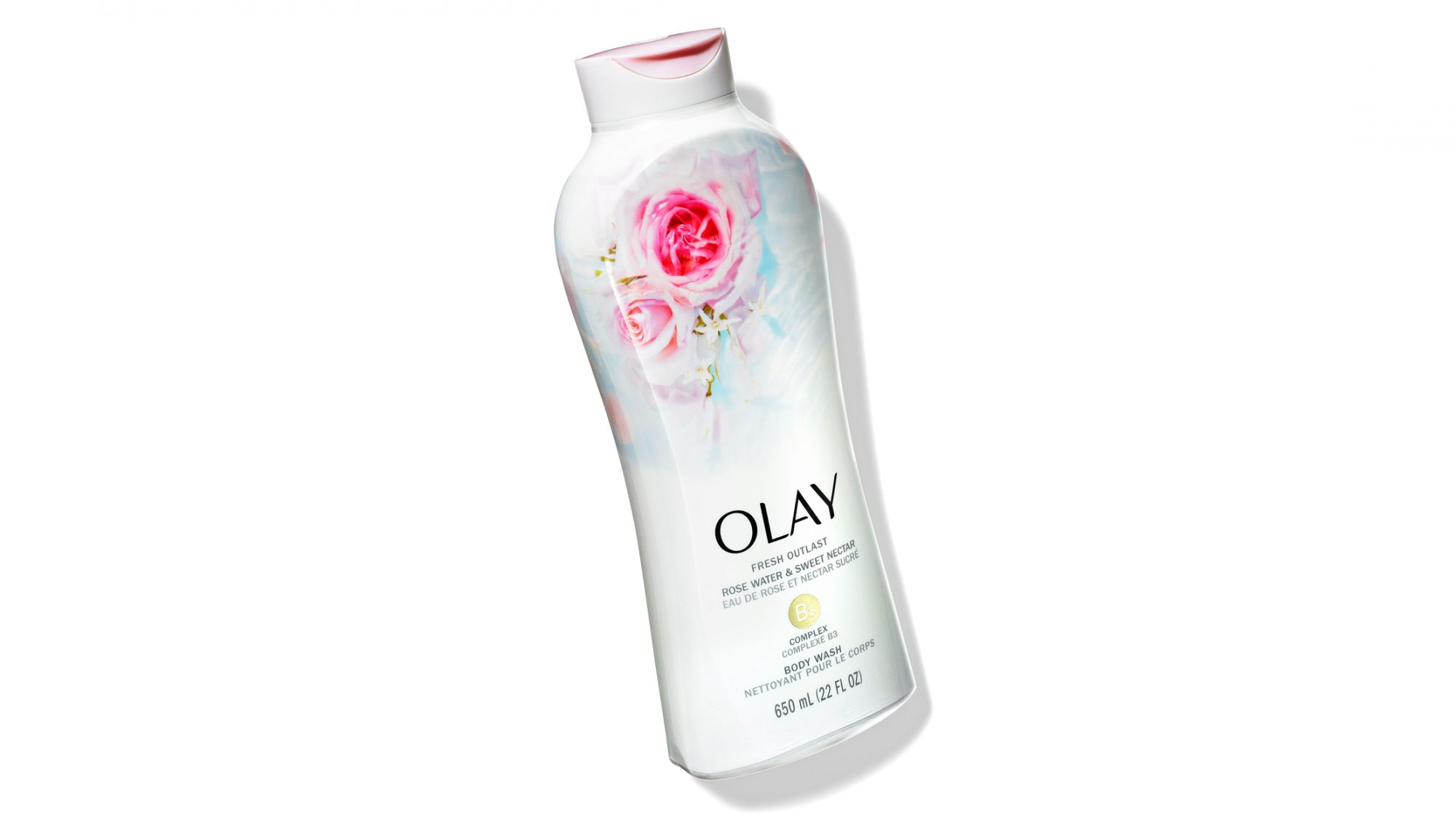 Olay Fresh Body Wash Rose Water and Sweet Nectar