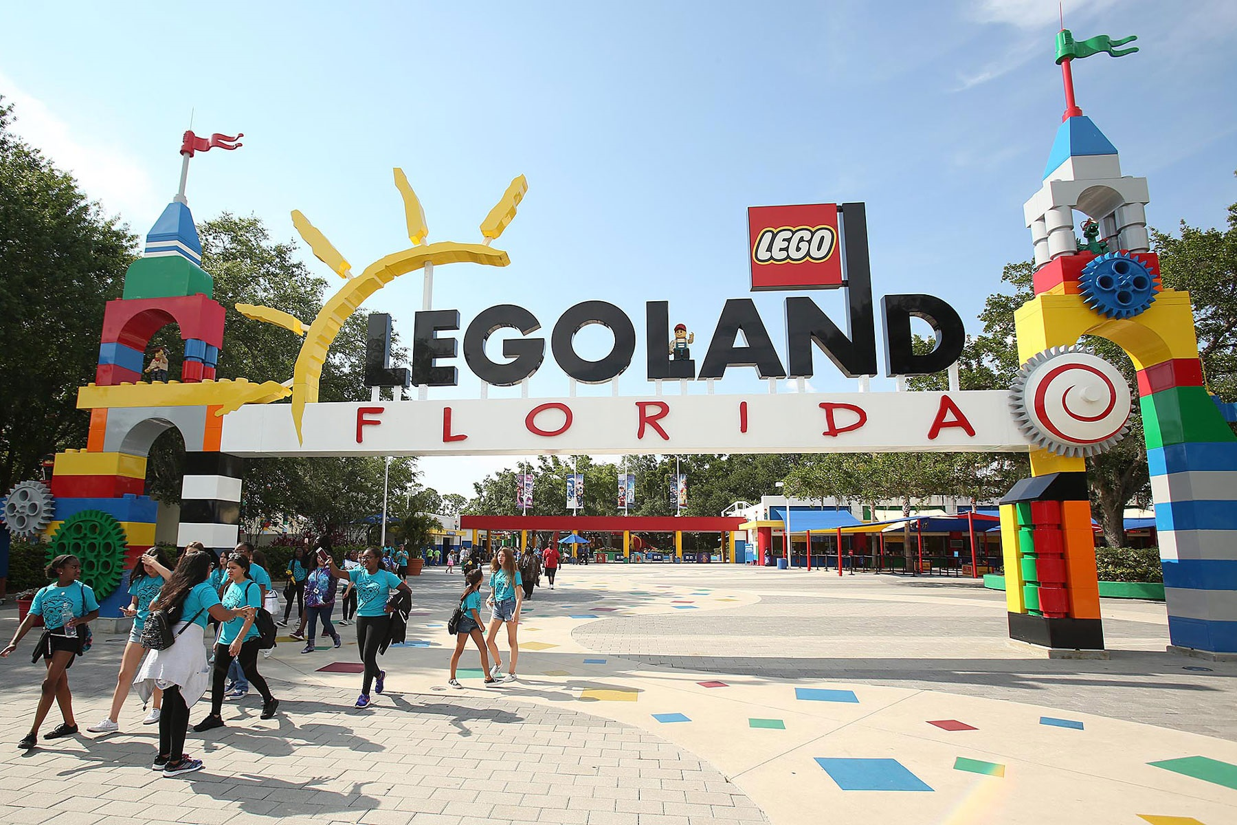 lego land florida theme park