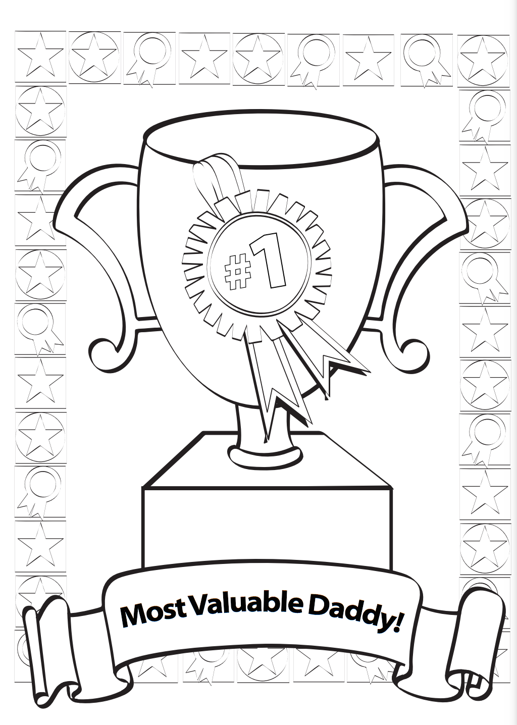 Greatest Dad Father's Day Card Printable
