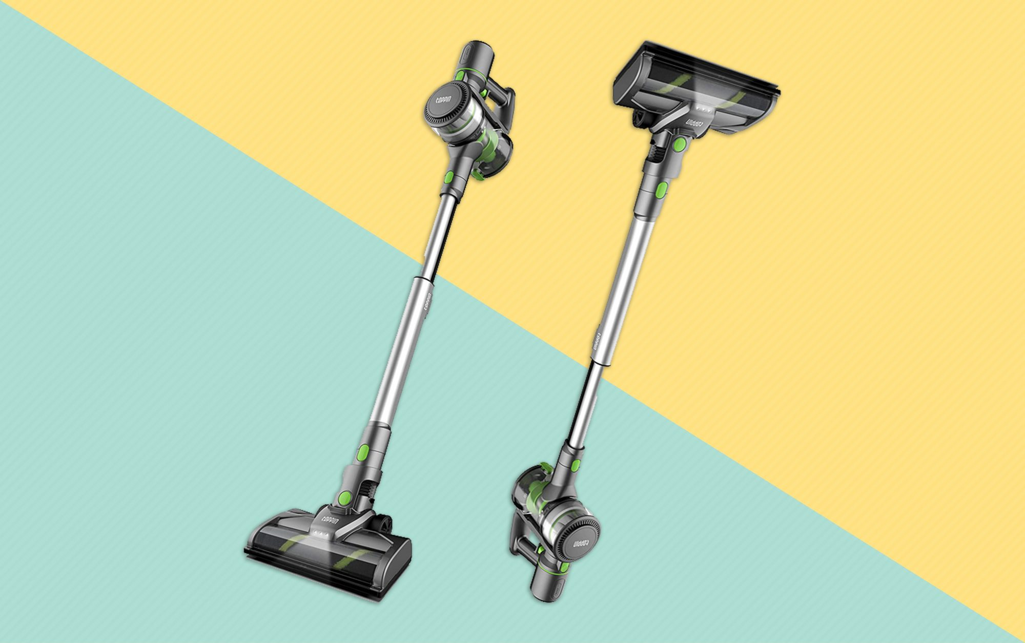 The Toppin cordless vacuum