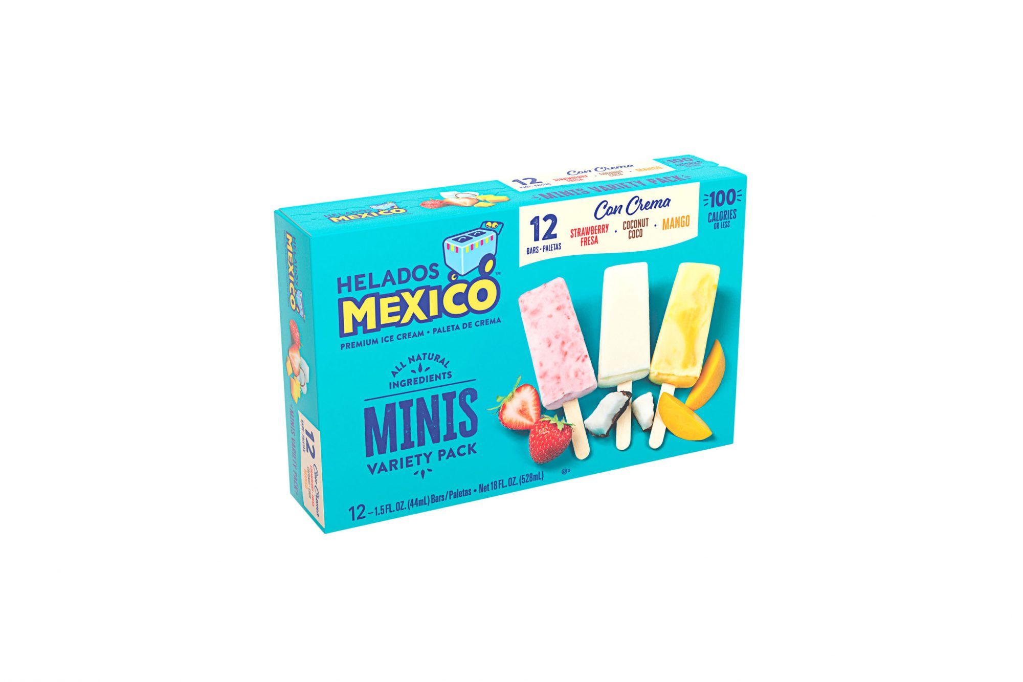 Helados Mexico Minis Variety Pack