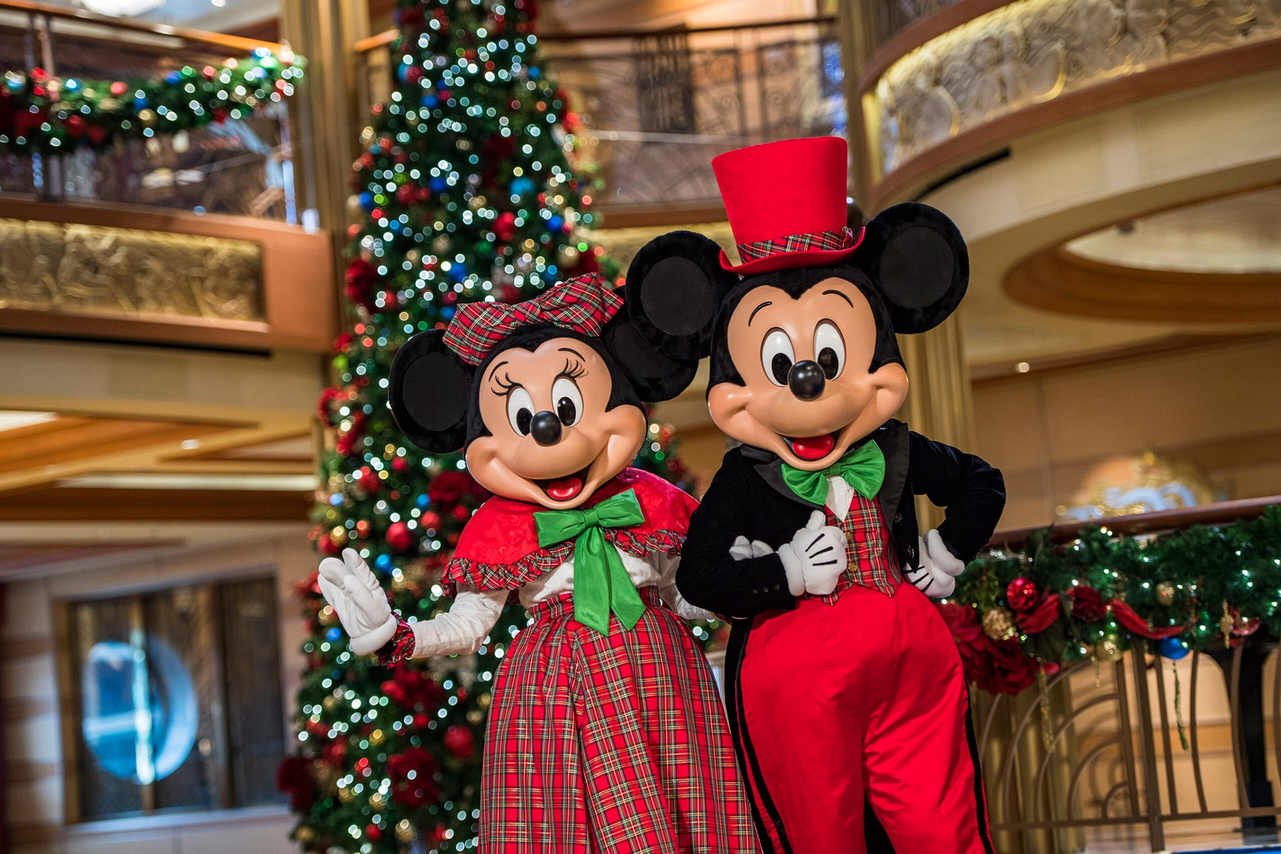 disney cruise mickey and minnie mouse christmas
