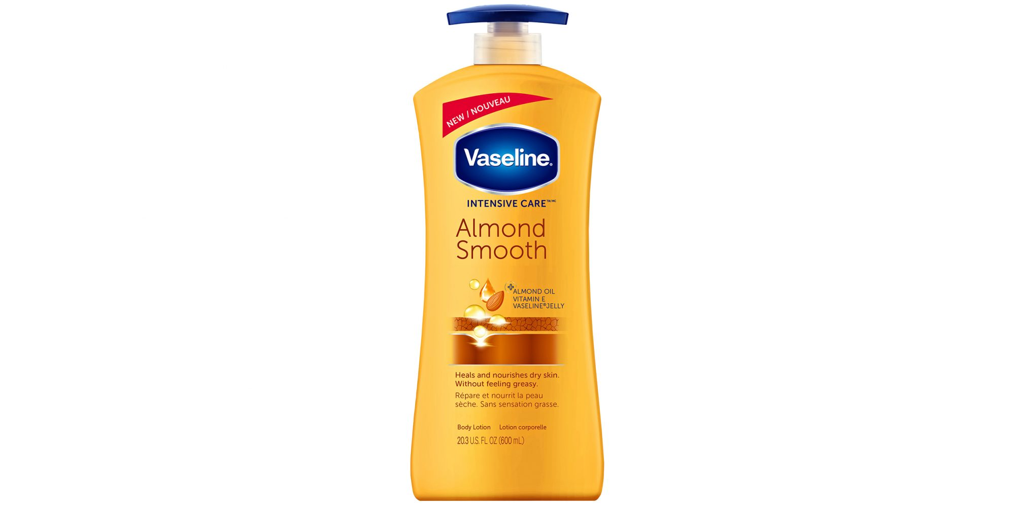 Vaseline Intensive Care Almond Smooth Body Lotion