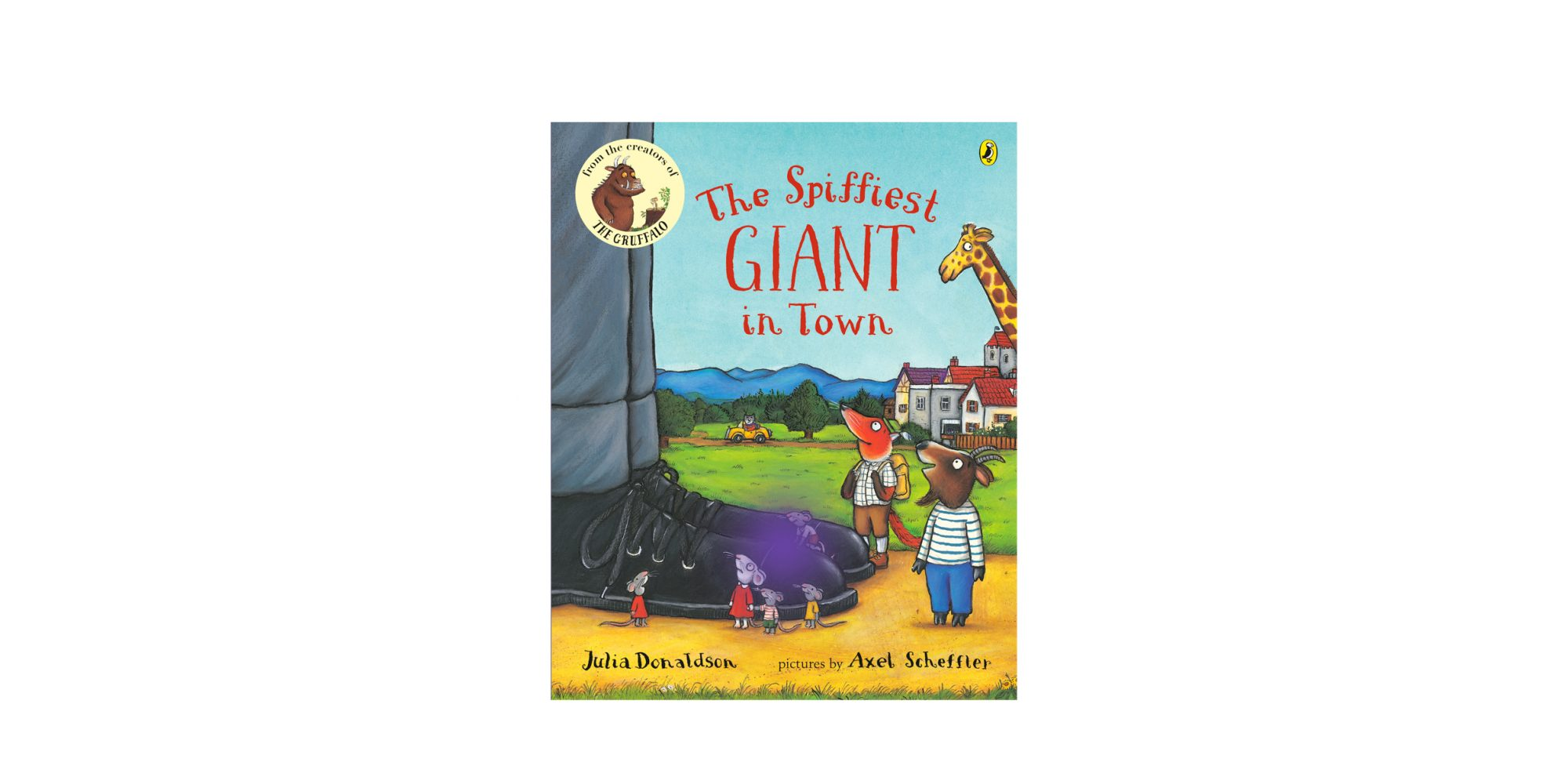 The Spiffiest Giant in Town book cover