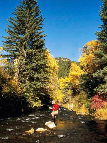 Spearfish Canyon fly fishing