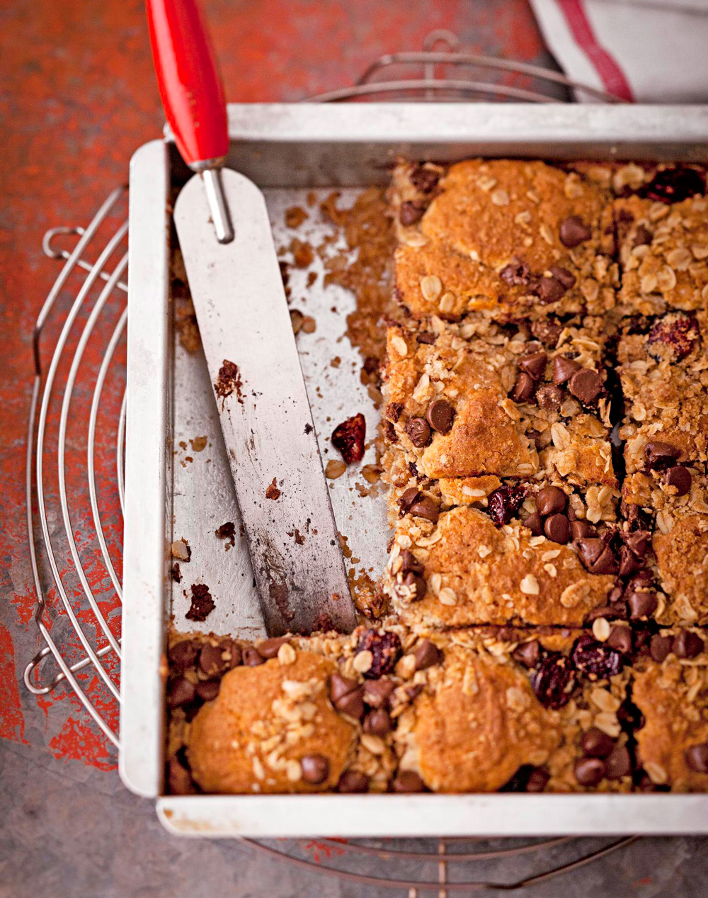 Overnight Cherry Chocolate Coffee Cake