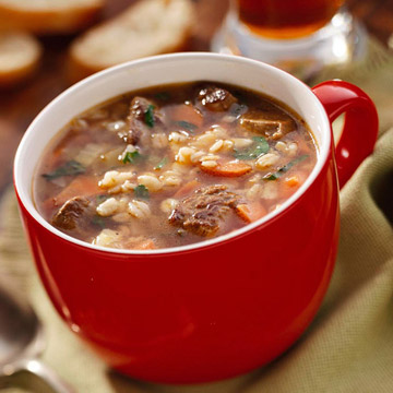 Chef Bill's Beef-Barley Soup