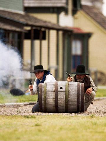 Dodge City: Horseplay that sells