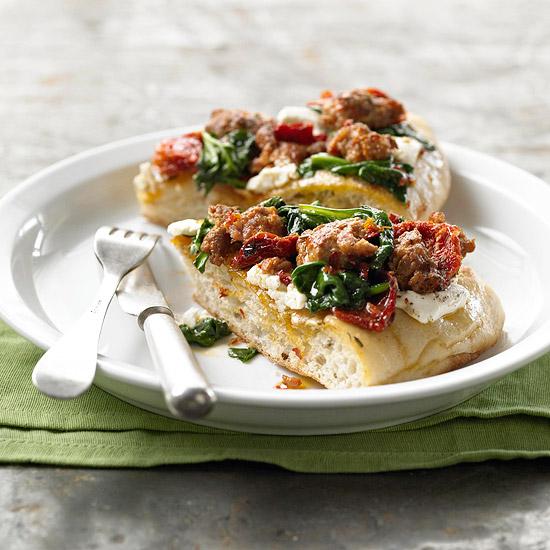 Savory Focaccia Pie